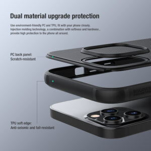 Nillkin Pro Back Case Cover Compatible with Apple iPhone 12/12 pro